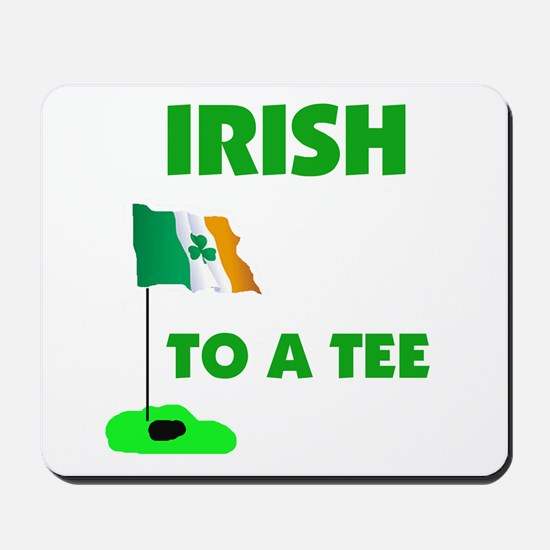 IRISH UP TO PAR Mousepad