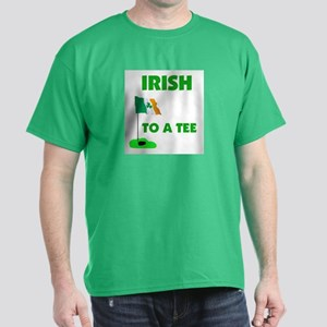 IRISH UP TO PAR Dark T-Shirt