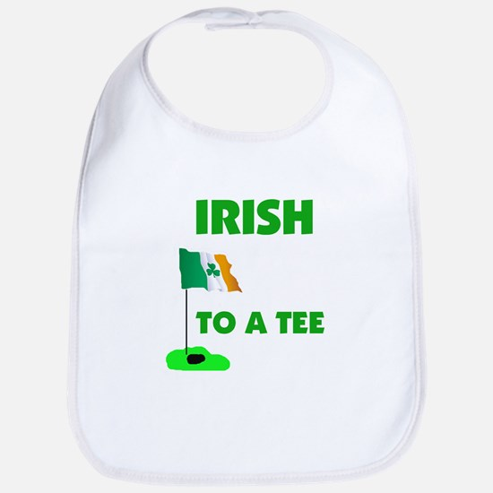 IRISH UP TO PAR Bib