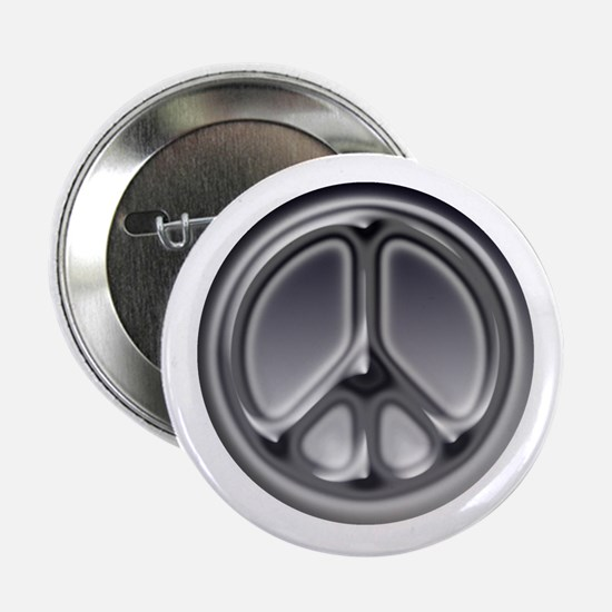 """Black faded circle 2.25"""" Button (10 pack)"""