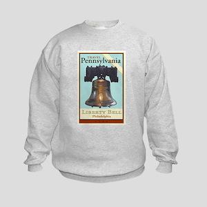 Travel Pennsylvania Kids Sweatshirt