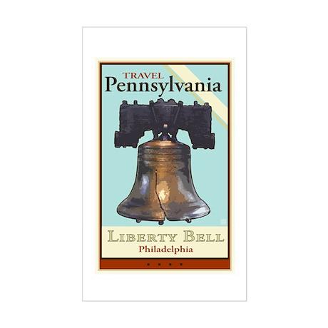 Travel Pennsylvania Rectangle Sticker