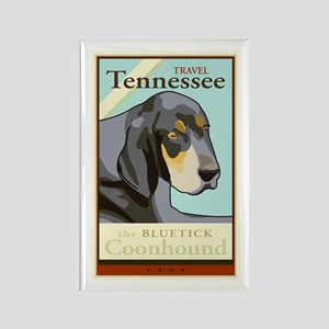 Travel Tennessee Rectangle Magnet