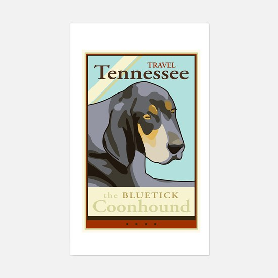 Travel Tennessee Rectangle Decal