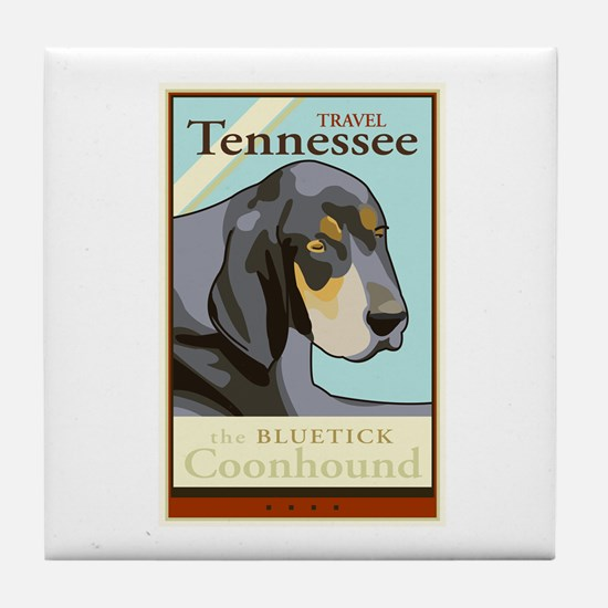 Travel Tennessee Tile Coaster