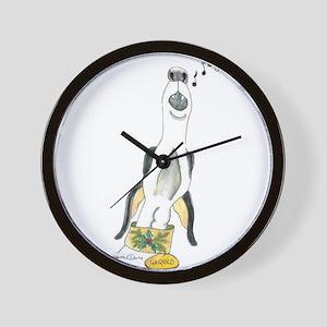 Hark The Harold Angel Sings Wall Clock