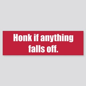 Honk if anything falls off.