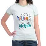 Hutton Glutton Jr. Ringer T-Shirt