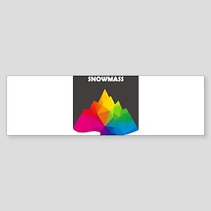 Aspen/Snowmass - Aspen and Snowma Bumper Sticker