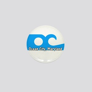 Ocean City Flag Mini Button