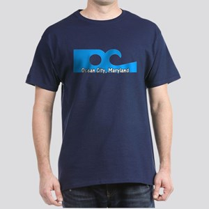 Ocean City Flag Dark T-Shirt