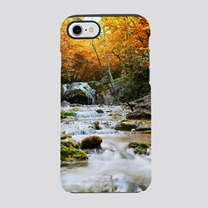 Autumn Forest Waterfall iPhone 7 Tough Case