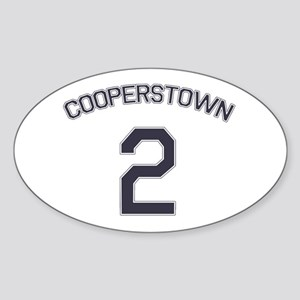 #2 - Cooperstown Oval Sticker