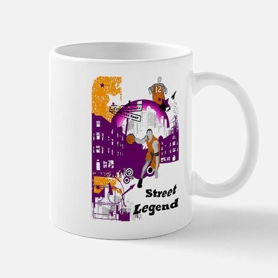 Mug, Purple Design