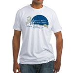 Masters Mind Heart Idea Design Fitted T-Shirt