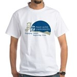 Masters Mind Heart Idea Design White T-Shirt