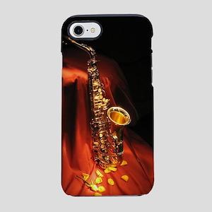 Red Saxophone iPhone 7 Tough Case