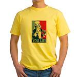 You Lie! Yellow T-Shirt