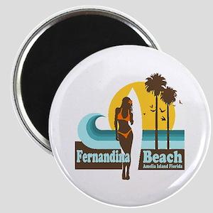 Fernandina Beach FL Magnet