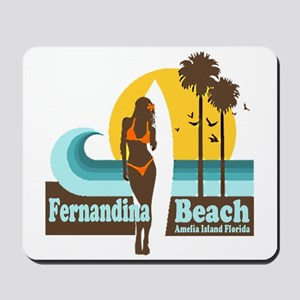 Fernandina Beach FL Mousepad