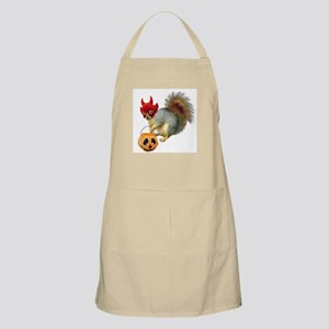 Trick or Treat Squirrel BBQ Apron