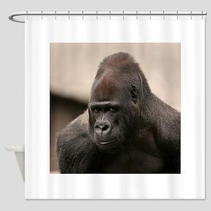 Gorilla Oscar 8645 Shower Curtain