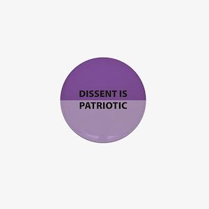 Dissent Mini Button