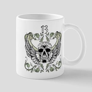 13 Hour Skull Clock Mug