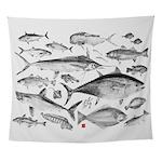 mutli fish Wall Tapestry