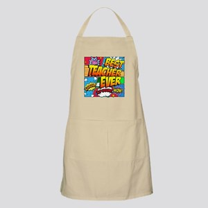 Best Teacher Ever Light Apron