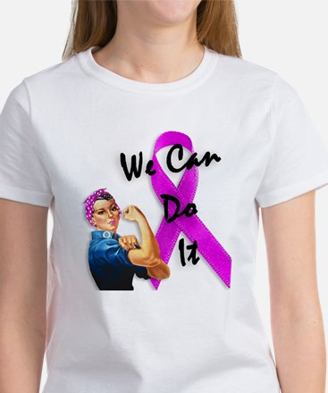Breast Cancer Awareness, Rosie the Riveter Tee