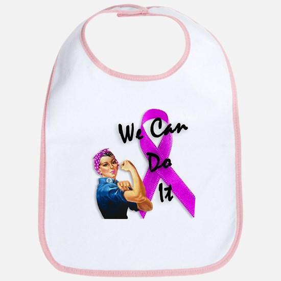Breast Cancer Awareness, Rosie the Riveter Bib