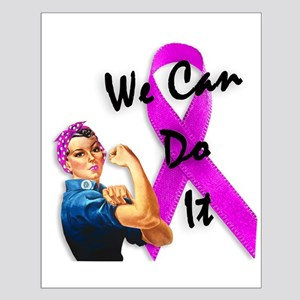 Breast Cancer Awareness, Rosie the Riveter Small P