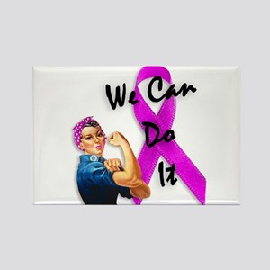 Breast Cancer Awareness, Rosie the Riveter Rectang