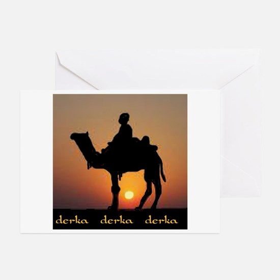 DERKA DERKA DERKA Greeting Cards (Pk of 10)