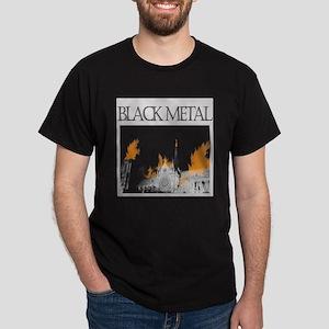 Church Burning Dark T-Shirt