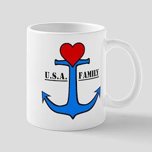 USA Family Anchor Mug