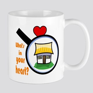 What's in your heart? Home Mug