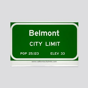 Belmont Rectangle Magnet