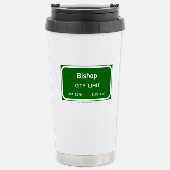 Bishop Stainless Steel Travel Mug