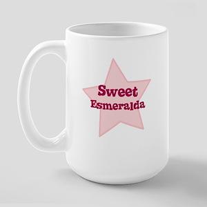 Sweet Esmeralda Large Mug
