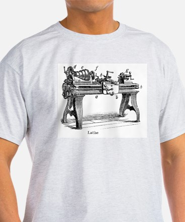 Woodturning Ash Grey T-Shirt