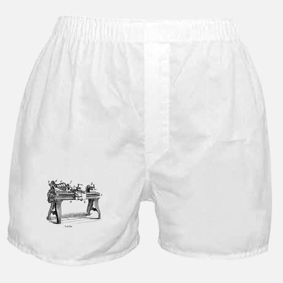 Woodturning Boxer Shorts