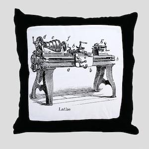 Woodturning Throw Pillow