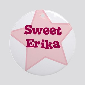 Sweet Erika Ornament (Round)
