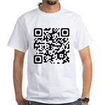 QR Code Hyperlink T-shirt