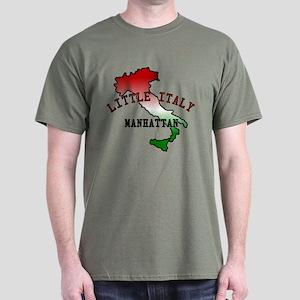 Little Italy Manhattan Dark T-Shirt