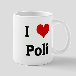 I Love Poli Mug