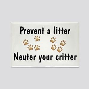 Prevent A Litter Rectangle Magnet (10 pack)