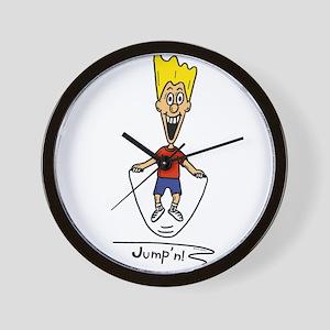 Fidget Jumping Rope Wall Clock